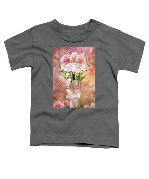 Amaryllis In Amaryllis Vase Toddler T-Shirt