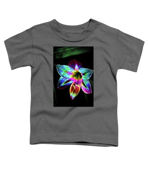 Amaryllis In Neon Toddler T-Shirt