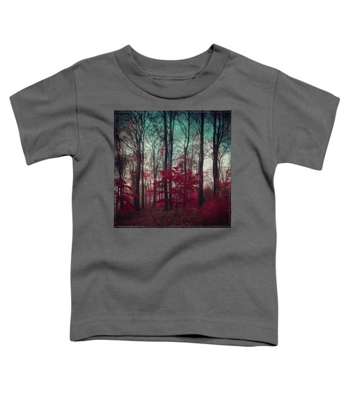 A.maze - Enchanted Red Forest Toddler T-Shirt