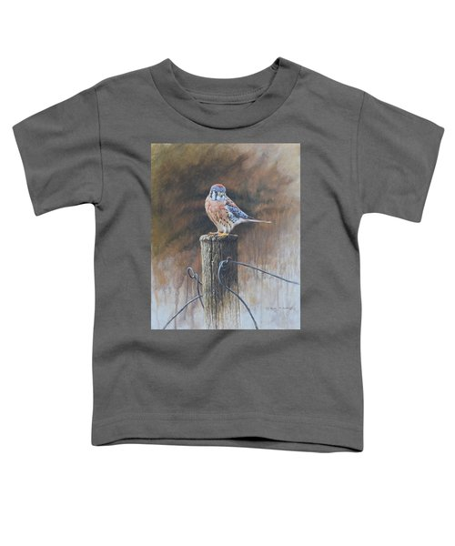 American Kestrel Toddler T-Shirt