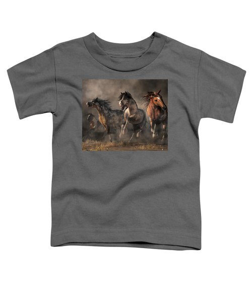 American Paint Horses Toddler T-Shirt