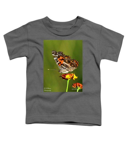 American Painted Lady Toddler T-Shirt