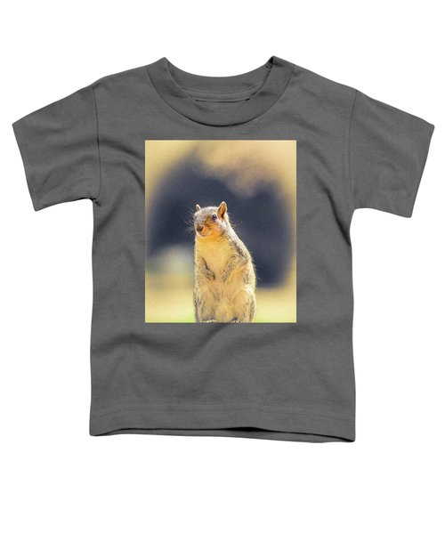 American Red Squirrel Toddler T-Shirt