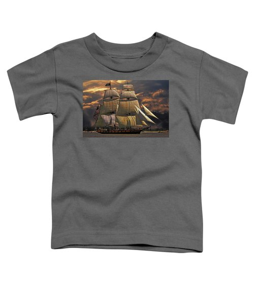 America's Ship Toddler T-Shirt