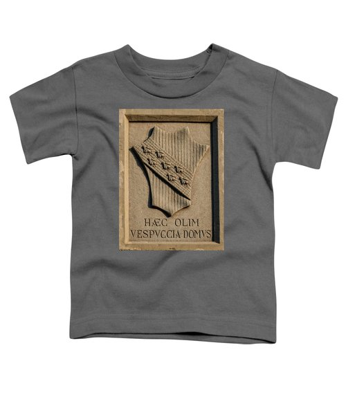 Amerigo Vespucci Lived Here Toddler T-Shirt