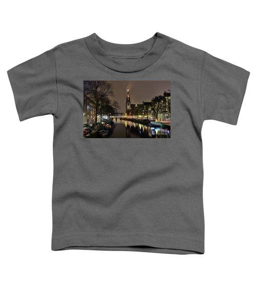 Amsterdam By Night - Prinsengracht Toddler T-Shirt