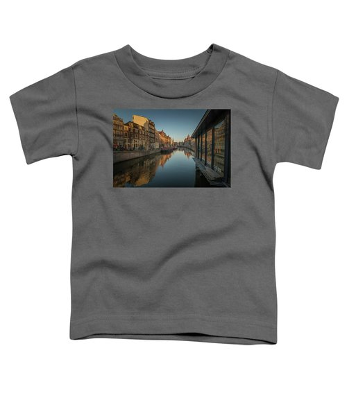 Amsterdam Canal Toddler T-Shirt