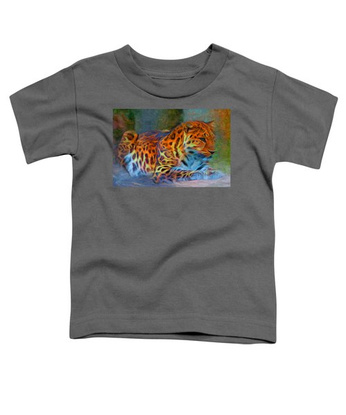 Amur Leopard Toddler T-Shirt