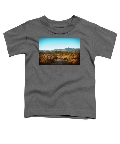 An Autumn Evening In Pagosa Meadows Toddler T-Shirt