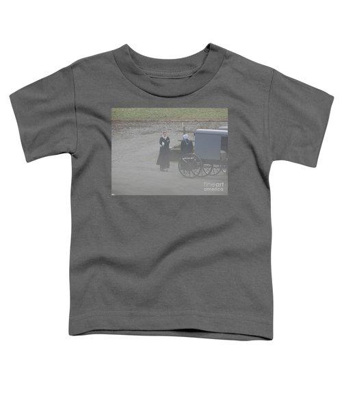 An Evening Goodbye Toddler T-Shirt