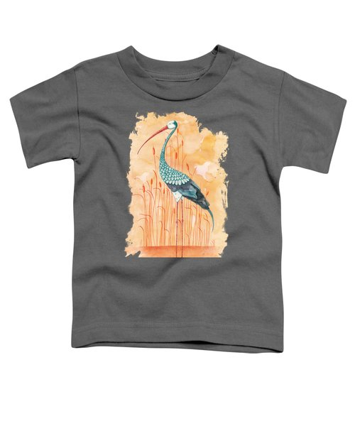 An Exotic Stork Toddler T-Shirt