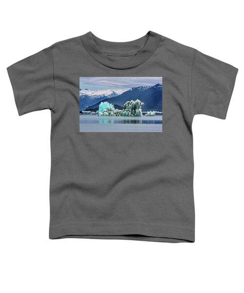 An Iceberg In The Inside Passage Of Alaska Toddler T-Shirt