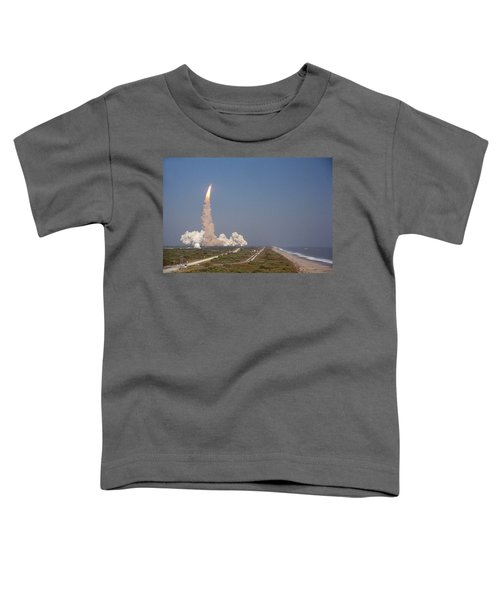 An Oceanside View Of The Sts-29 Discovery Launch From Pad 39b. Toddler T-Shirt