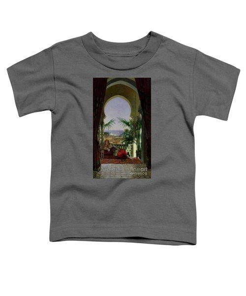 An Odalisque On A Terrace Toddler T-Shirt