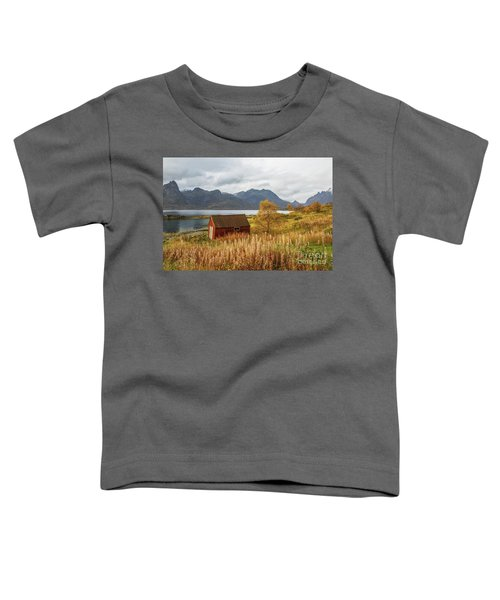 An Old Boathouse Toddler T-Shirt