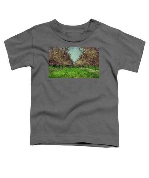 An Orchard In Blossom In The Eila Valley Toddler T-Shirt
