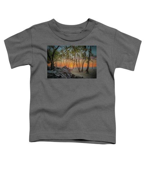 Anaehoomalu Beach Sunset Toddler T-Shirt