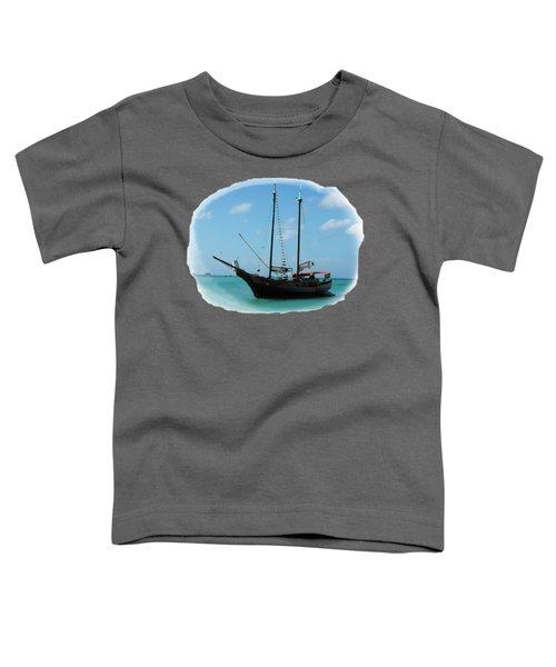 Anchored Toddler T-Shirt by David and Lynn Keller