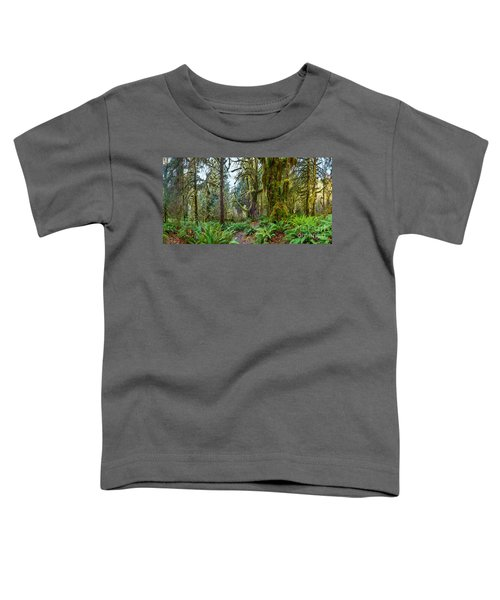 Ancient Forest Panorama Toddler T-Shirt