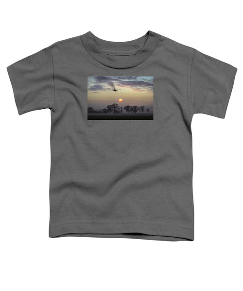 And Finally Toddler T-Shirt by Gary Eason