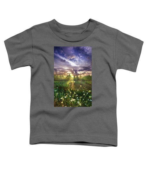 And In The Naked Light I Saw Toddler T-Shirt