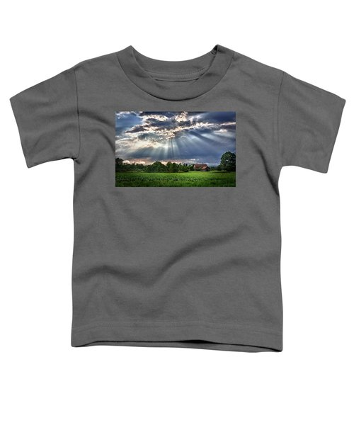 And The Heavens Opened 1 Toddler T-Shirt