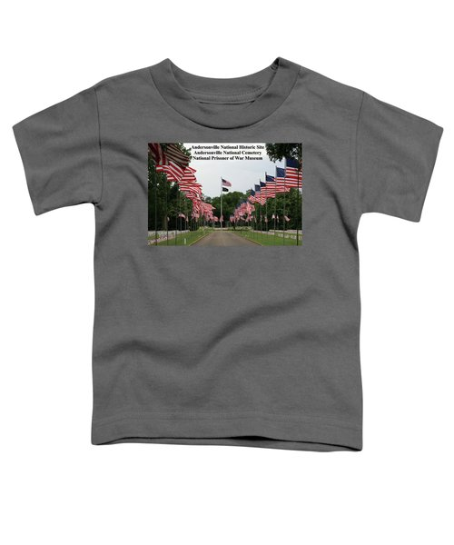 Andersonville National Park Toddler T-Shirt