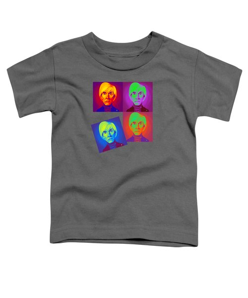 Andy Warhol On Andy Warhol Toddler T-Shirt