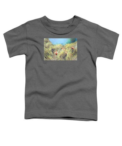 Anemone Clownfish Toddler T-Shirt