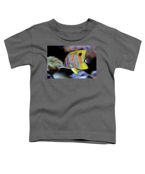 Angel In Striped Pajamas Toddler T-Shirt