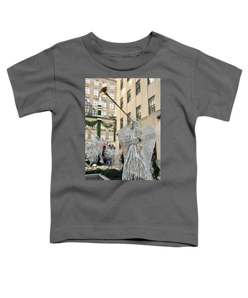 Angel New York City Toddler T-Shirt