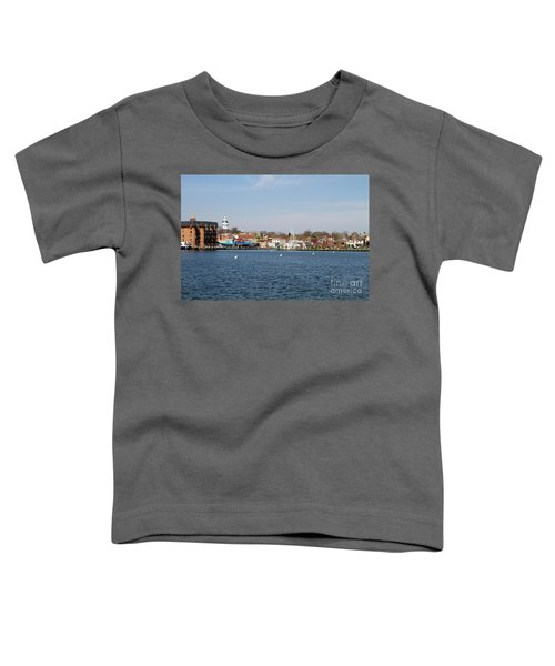Annapolis City Skyline Toddler T-Shirt