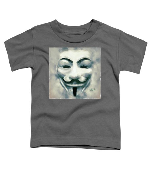 Anonymous Toddler T-Shirt