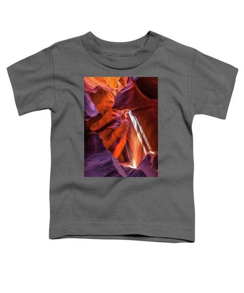 Antelope Canyon Lightshaft 3 Toddler T-Shirt