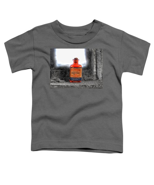 Antique Mercurochrome Hynson Westcott And Dunning Inc. Medicine Bottle - Maryland Glass Corporation Toddler T-Shirt