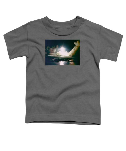 Apollo 17 Night Launch Toddler T-Shirt
