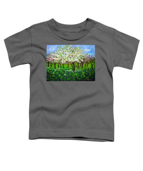 Apple Blossom Orchard Toddler T-Shirt