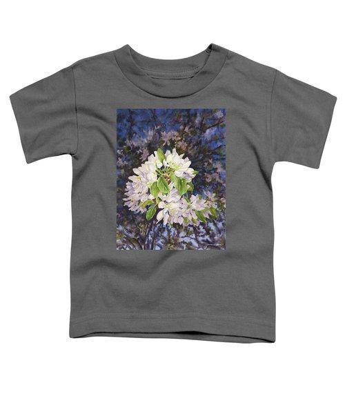 Apple Blossoms At Dusk Toddler T-Shirt