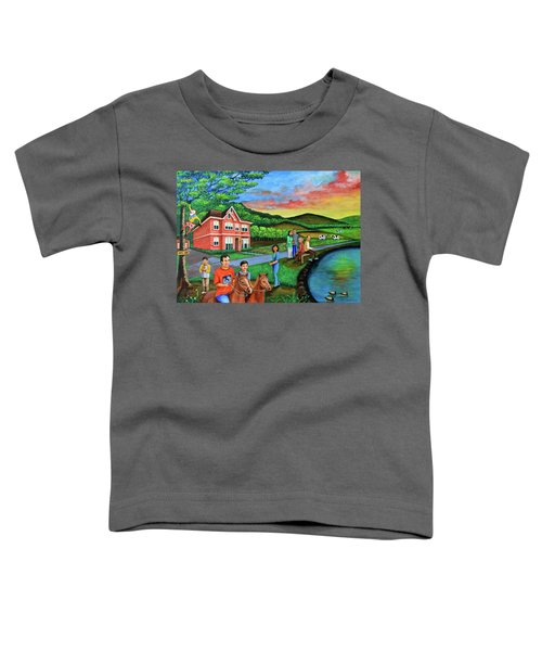 Apple Land Toddler T-Shirt