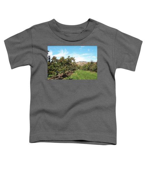 Apple Picking Toddler T-Shirt
