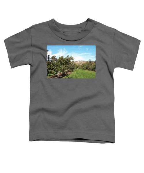 Apple Picking Toddler T-Shirt
