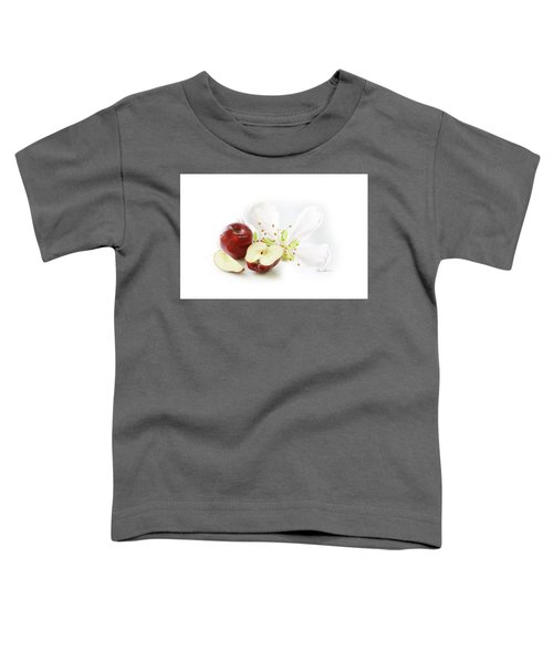 Apples And Blossom Toddler T-Shirt