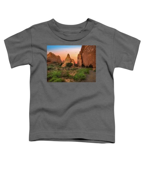Arches National Park Sunset Toddler T-Shirt