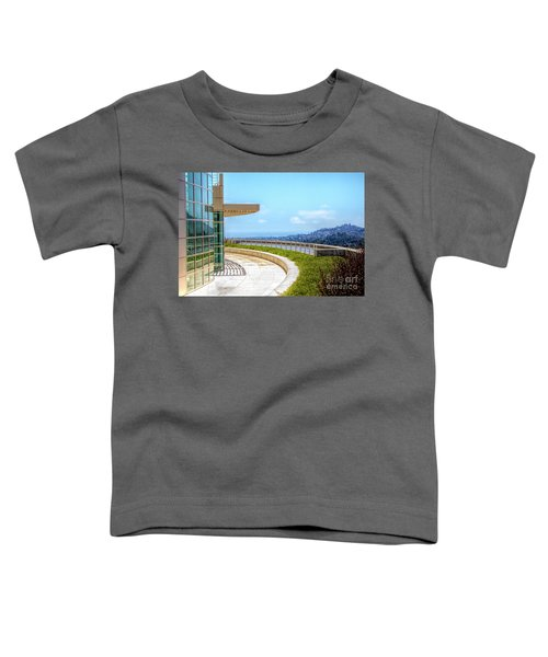 Architecture J. Paul Getty Museum California  Toddler T-Shirt