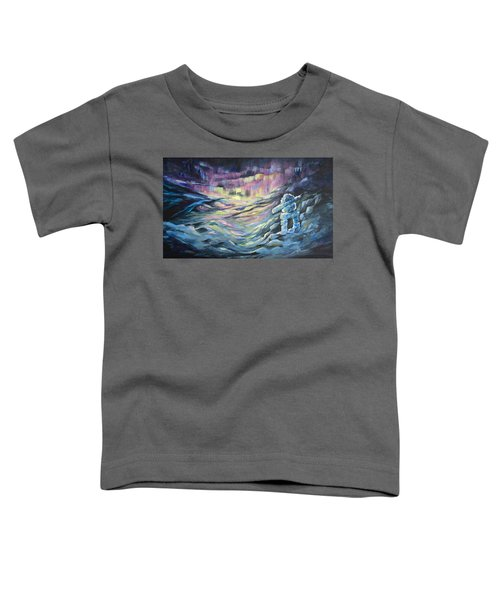 Toddler T-Shirt featuring the painting Arctic Experience by Joanne Smoley