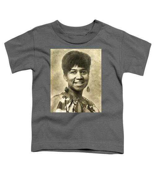 Aretha Franklin Queen Of Soul Toddler T-Shirt