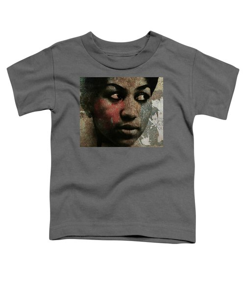 Aretha Franklin - Tribute Toddler T-Shirt