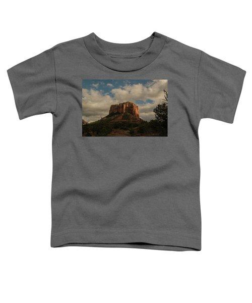 Arizona Red Rocks Sedona 0222 Toddler T-Shirt by David Haskett