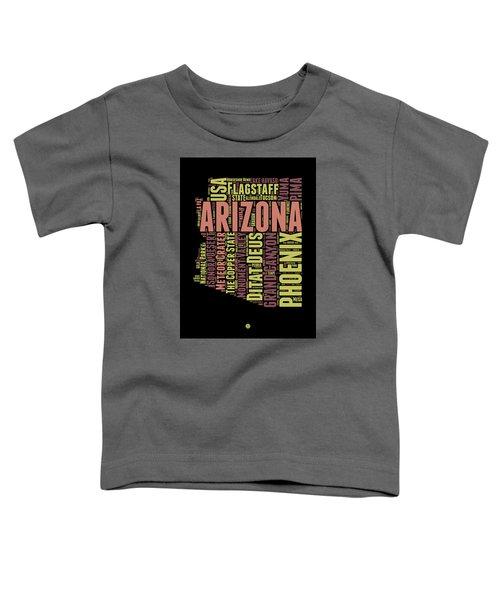 Arizona Word Cloud Map 1 Toddler T-Shirt