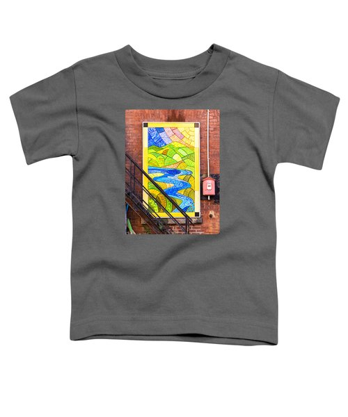 Art And The Fire Escape Toddler T-Shirt